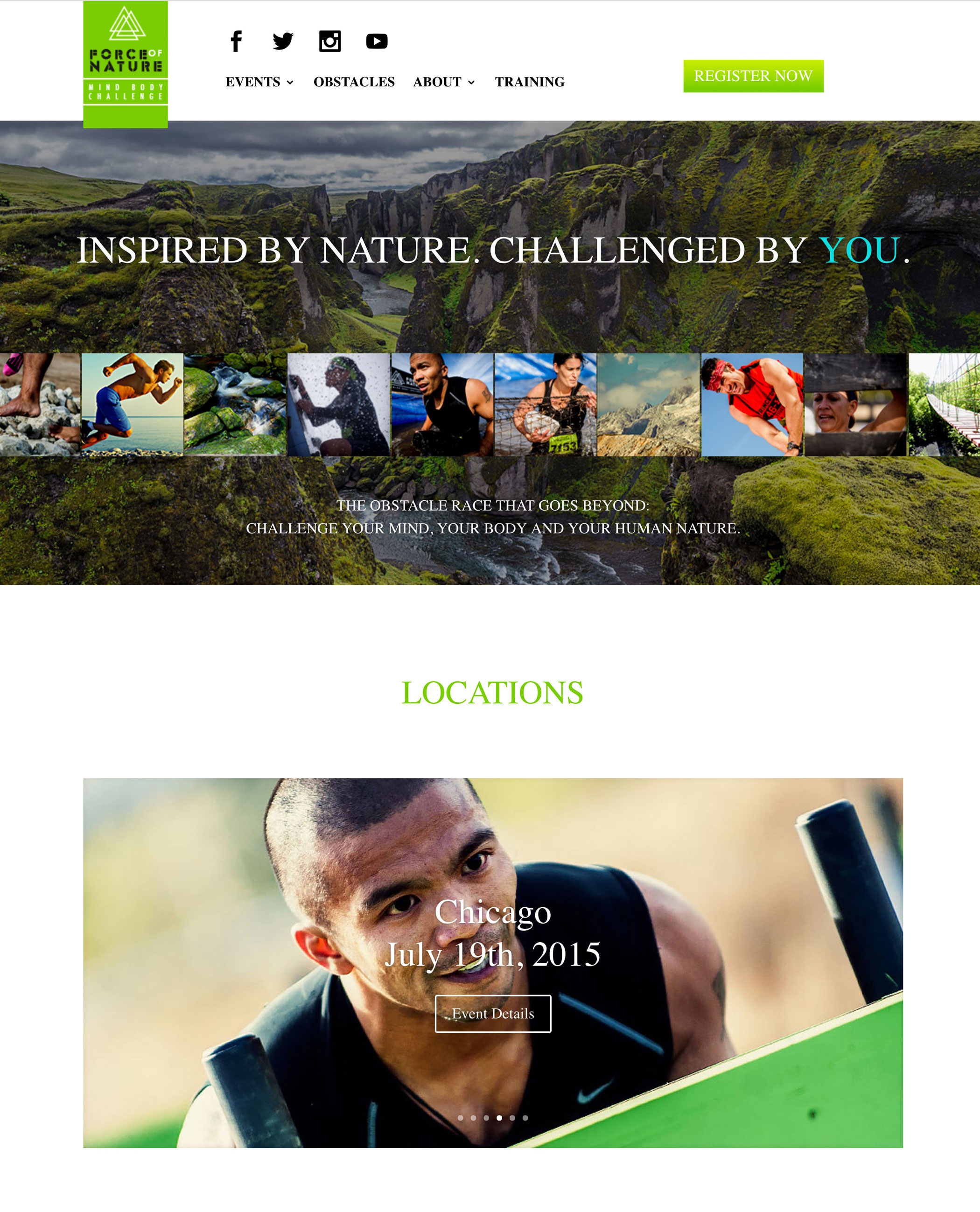 Force of Nature Home Page